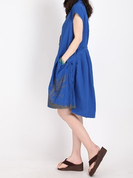 Casual Ruffled Back Day Dress