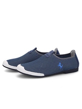 Breathable Crochet Slip-On Loafers