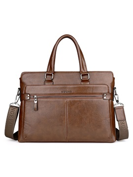 Occident Style Large-capacity Men's Handbag