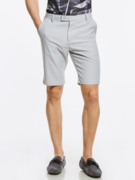 Tidebuy Loose Plain Straight Men's Leisure Shorts