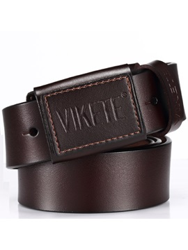High Quality Genuine Leather Men's Belt