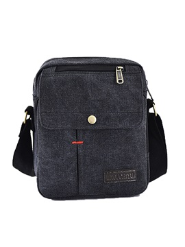 Contracted Nylon Solid Color Men's Bag