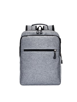 Modern Style Canvas Men's Backpack
