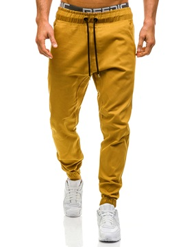 Tidebuy Polyester Lace-up Men's Casual Pants