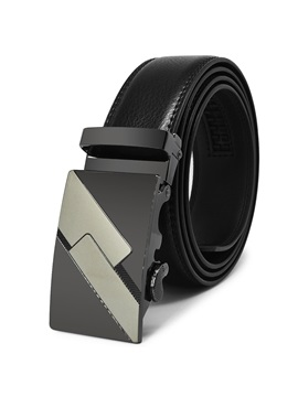 Personalized Metal Automatic Buckle Casual Men's Belt
