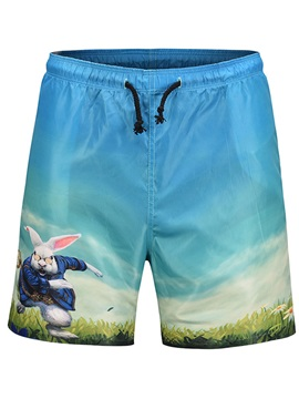 Tidebuy Animal Cartoon Print Men's Board Shorts