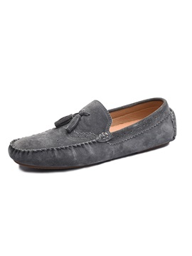 PU Slip-On Men's Loafers