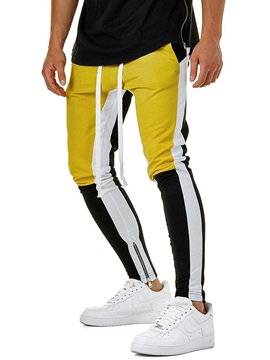 Color Block Sports Men's Casual Pants