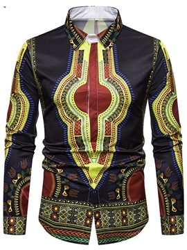 Dashiki African Print Men's Fashion Shirt