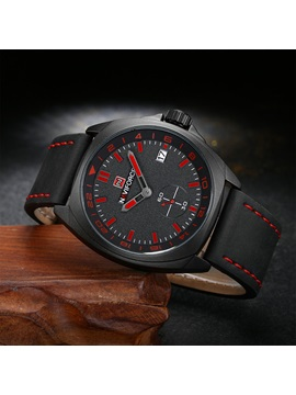 Hardlex Case Waterproof Pin Buckle Men's Sports Watch