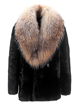 Thicken Warm Fur Neck Winter Men's Coat