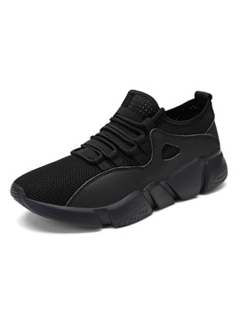 Lace-Up Low-Cut Upper Sports Lace-Up Men's Sneakers