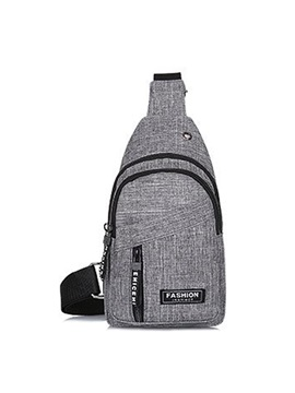 Men Canvas Chest Packs