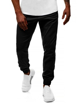 Plain Pocket Men's Casual Pants