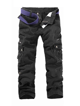Pocketed Style Men's Casual Pants