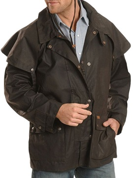 Lapel Plain Pocket Slim Men's Jacket