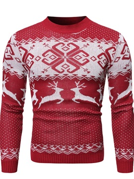 Christmas Animal Standard Winter Men's Sweater