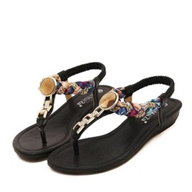 Deco Chain Thong Flat Sandals