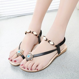 Buy Beaded Ring-Toe Beach Sandals