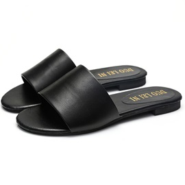 PU Candy Color Slip-On Women's Flip Flops