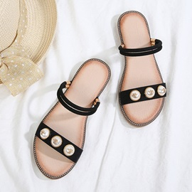Beads Ankle Strap Women