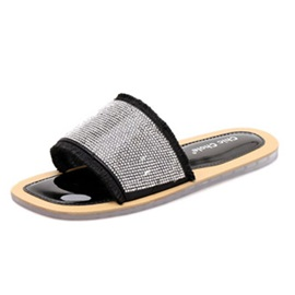 Slip-On Flat With Women's Sandals