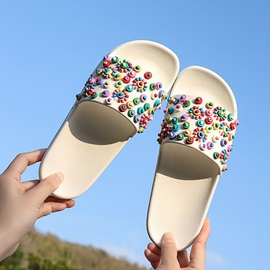 Candy Color Flat Casual Women's Slippers