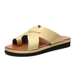 Toe Ring Hollow Casual Women's Slippers