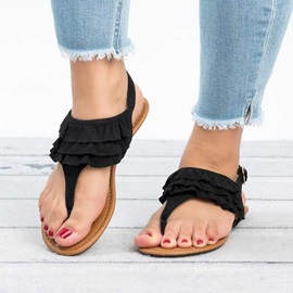 Thong Buckle Vintage Women's Sandals