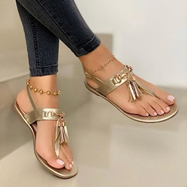 Thong Flat With Buckle Sweet Sandals