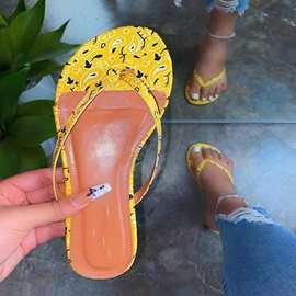 Thong Slip-On Flat With Casual Slippers