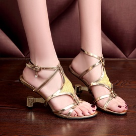 Strappy Strange Heel Women's Sandals