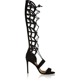 Strappy Hollow Out Stiletto Heel Sandals
