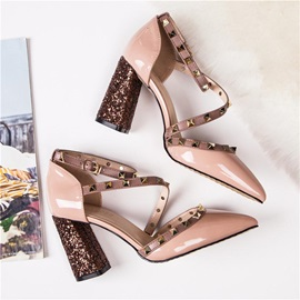 Heel Covering Buckle Closed Toe Women's Sandals