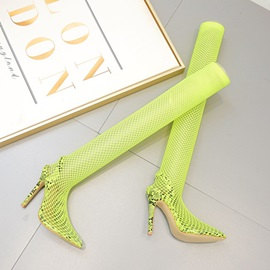 Pointed Toe Stiletto Heel Hollow Sexy Pumps