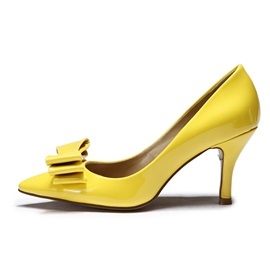 Bowknot Pointed Toe Classic Pumps
