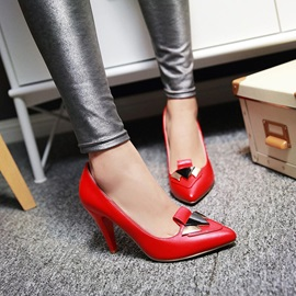 Sequins Pointed Toe Pumps