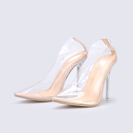 Slip-On Stiletto Heel Pointed Toe Casual Pumps