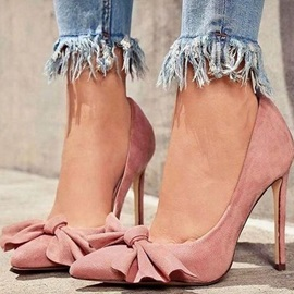 Pointed Toe Stiletto Heel Slip-On Sweet Pumps