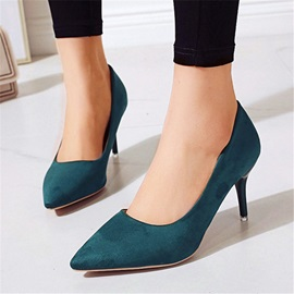 Slip-On Stiletto Heel Pointed Toe Sexy Thin Shoes