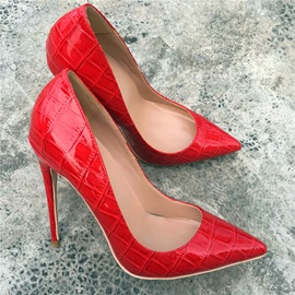 Stiletto Heel Slip-On Pointed Toe Professional Thin Shoes
