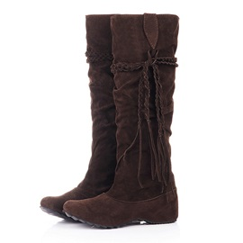 Latest Brown Inner Height Knee High Boots