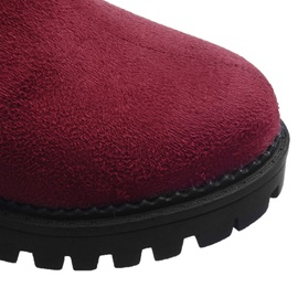 Suede Lugz Sole Short Boots