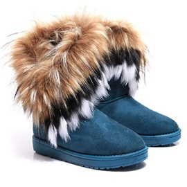 Round Toe Slip-On Flat With Western Boots