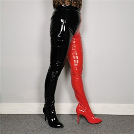 Slip-On Pointed Toe Sexy Thigh High Boots
