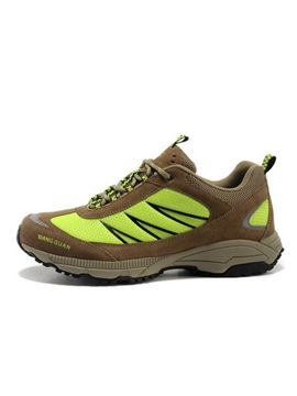 Breathable Mesh Lace-Up Hiking Boots