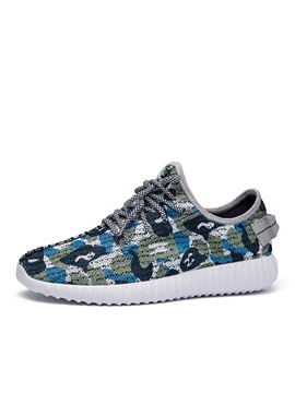 Cozy Breathable Lace-Up Sneakers