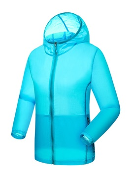 Nylon Elastic Cuff Women Outdoor Windbreaker
