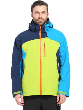 Color Block Two-Piece Men's Outdoor Jacket