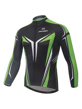 Long-Sleeve Rear Pockets Men's Cycle Jersey